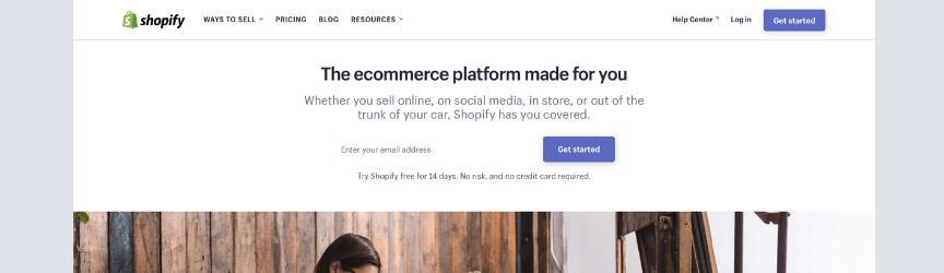 shopify comercio electrónico